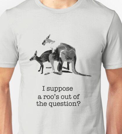 Kangaroos having fun Unisex T-Shirt