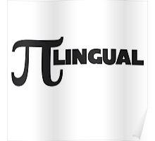 PI lingual Poster