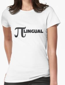 PI lingual Womens Fitted T-Shirt