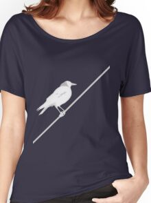 Bird on Wire Women's Relaxed Fit T-Shirt