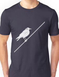 Bird on Wire Unisex T-Shirt