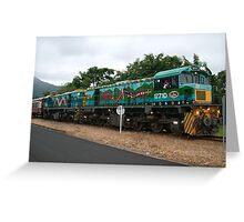 Kuranda Railway Queensland Greeting Card