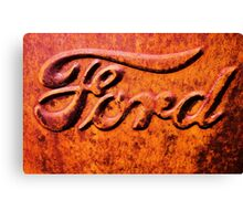 Ford Canvas Print