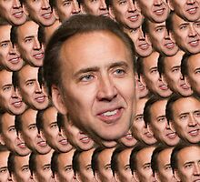 Nicolas Cage by DavidFakner