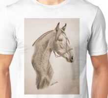 """Argentinian Beauty"" - Criollo mare - Sepia Unisex T-Shirt"