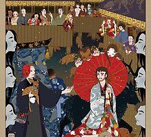 Hannibal Kabuki by liarakcrane