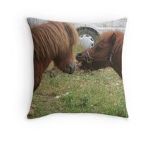 It's An Animal Attraction Throw Pillow