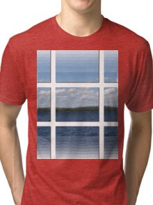 Through The Windows-Available As Art Prints-Mugs,Cases,Duvets,T Shirts,Stickers,etc Tri-blend T-Shirt