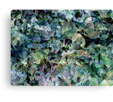 Digitally created condensed facing Canvas Print