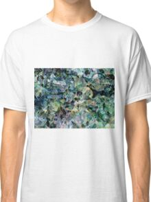 Digitally created condensed facing Classic T-Shirt