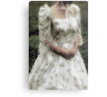 Jane Austen lady Metal Print