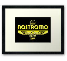 Nostromo. Framed Print