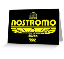 Nostromo. Greeting Card