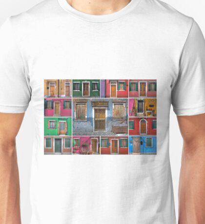 mediterranean doors and windows Unisex T-Shirt