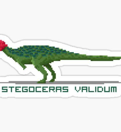 Pixel Stegoceras Sticker