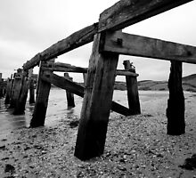 The Old Pier at Fahan by Sarah Cowan