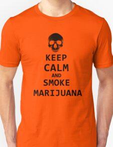 keep calm and smoke marijuana T-Shirt