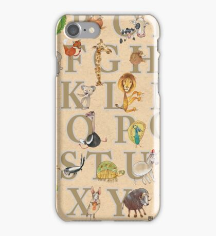 Animal ABCs iPhone Case/Skin