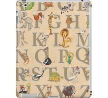 Animal ABCs iPad Case/Skin