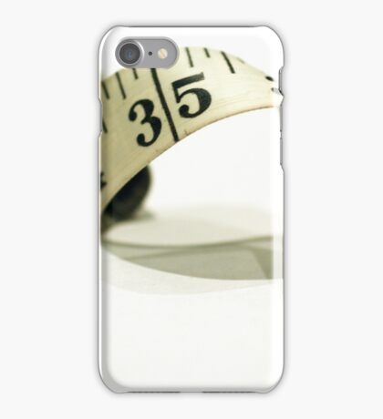 day 51: tape measure iPhone Case/Skin