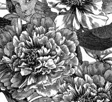 Peony Flowers by Fancy Brand Sticker