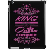 Conquer  iPad Case/Skin