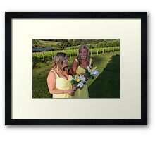 Bridesmaids Framed Print