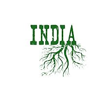 India Roots Photographic Print