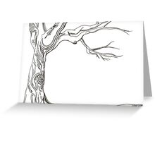 Lines of life Greeting Card