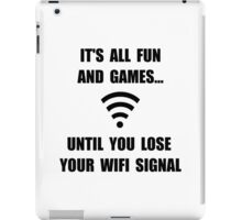 Lose Your WiFi iPad Case/Skin