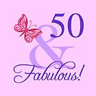 Fabulous 50th Birthday For Her by thepixelgarden