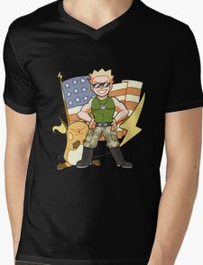 Lt. Surge Mens V-Neck T-Shirt