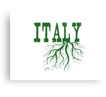 Italy Roots Canvas Print