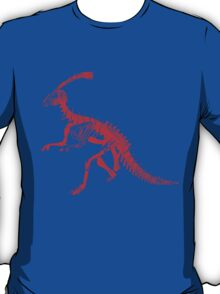 Dino Blue and Red T-Shirt