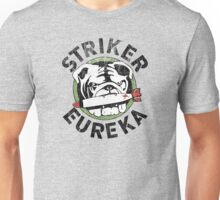 Distressed Striker Eureka Logo Unisex T-Shirt