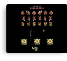 Hyrule Invaders - A Link to the Past Canvas Print