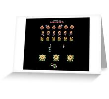 Hyrule Invaders - A Link to the Past Greeting Card