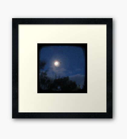 Night - Through The Viewfinder Framed Print