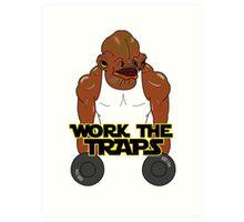 Workout Ackbar Art Print