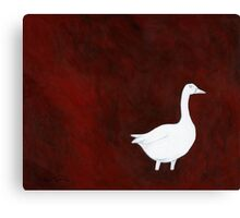 The Blue Goose Shall Judge You Canvas Print