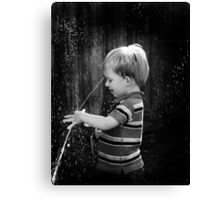 Wet!!! Canvas Print