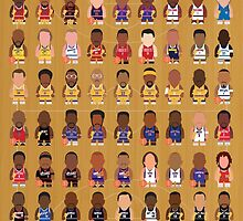NBA Legends by johnsalonika84