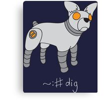 Angrybot: Prompt Dog Canvas Print