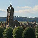 Peebles Parish Church by Robert Abraham