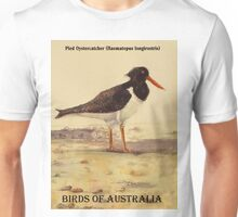 Pied Oystercatcher - Birds of Australia series Unisex T-Shirt