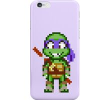 Donnie TMNT 2012 Mini Pixel iPhone Case/Skin
