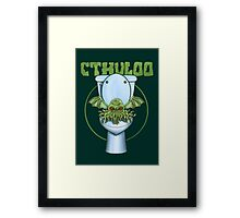 Cthuloo Framed Print
