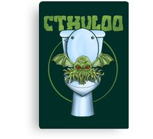 Cthuloo Canvas Print