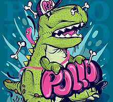 Poster Dino by MISTERPOLLO