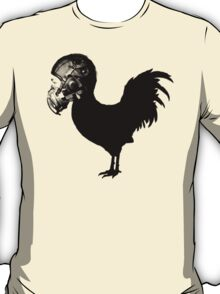 Rooster with Winter Flying Helmet T-Shirt